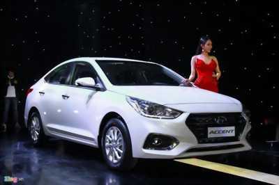 Hyundai Accent 2018 hoàn toàn mới
