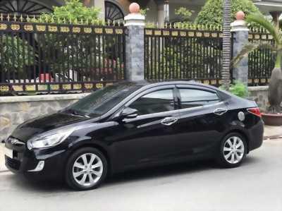 Cần bán xe Hyundai Accent 1.4AT đời 2011, màu đen, nhập khẩu chính hãng