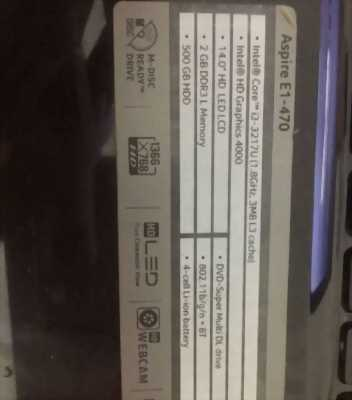 Acer E1-470, 2Gb, HDD 500