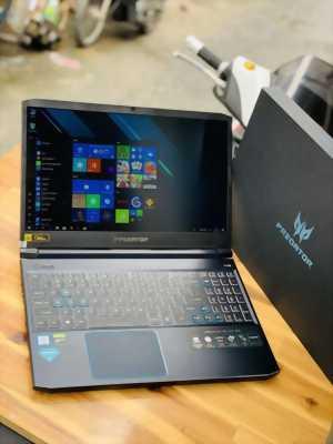 Laptop Acer Predator Helios 300, Core i7 9750H 8G SSD256+1T GTX1660ti 6G Full HD 144hz Win bản quyền Full Box BH9/2020