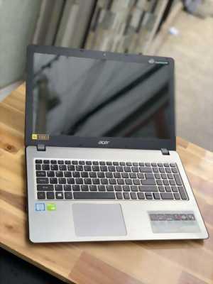 Laptop Acer F5-573G, i5 7200U 4G SSD128+1000G Full HD GT940MX đèn phím Pin 8h Giá rẻ