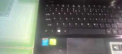 Laptop acer core i5 4210u.
