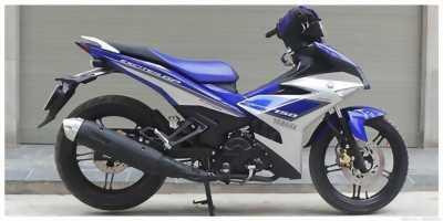 Exciter 150 đăng ký 2016 phiên bản GP xanh bạc huyện lộc hà