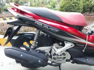 Xe ga honda airblade 110 màu đen đỏ 2012