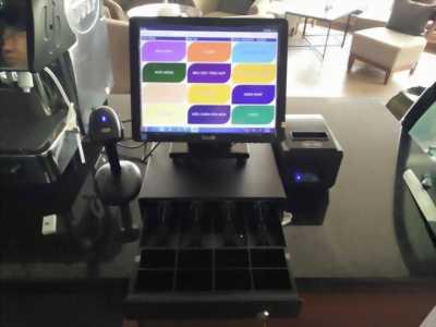 Bộ máy tính tiền cảm ứng điện trở cho nhà hàng tại đồng nai