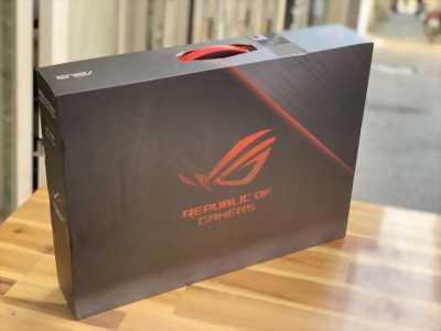 Laptop Asus ROG GL703GE, i7 8750H 16G SSD128+1THDD GTX1050Ti 4G Full HD Full Box Còn BH 7/2020