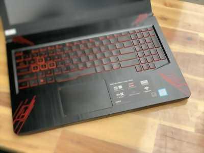 Laptop Asus TUF FX504GE, i7 8750H 8G SSD128/1THDD GTX1050Ti Full HD Còn BH 10/2020 Giá rẻ