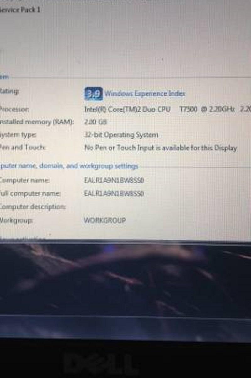 Laptop DELL latitude D630