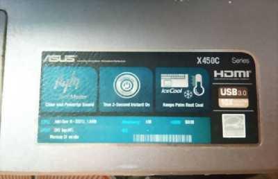 Laptop Asus x450. trang bị SSD, ram 4gb, ổ cứng 500gb