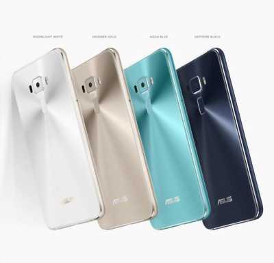 Asus Zenfone 3 Gold hai mặt kính Qualcomm 625 99%