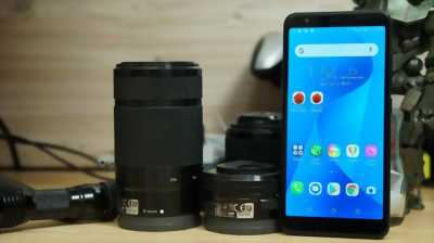 Asus Zenfone Max Plus M1 đen giao lưu trải nghiệm