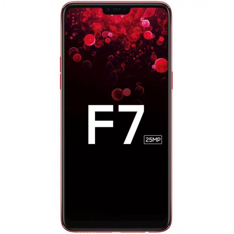 Điện thoại oppo F7 đỏ