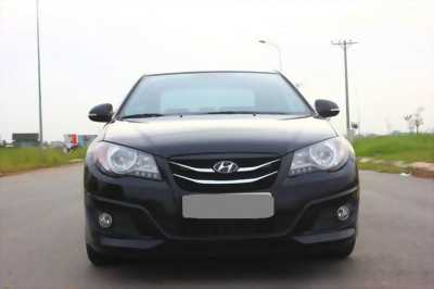 Bán Hyundai Avante 2013 số sàn màu đen đập thùng từ đầu.