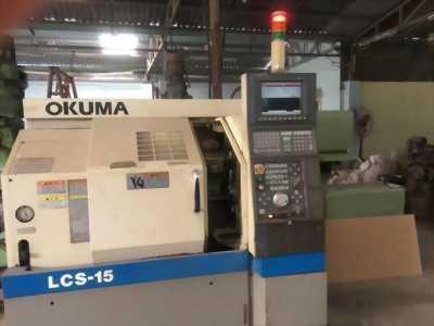 Bán 01 máy tiện CNC OKUMA