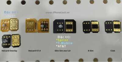Sim ghép cho iphone lock và nokia 130 kẻ màn