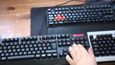 Bán bàn phím Cherry Red Switch, chuyên cho Gamer