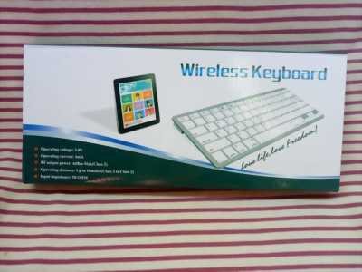 Bàn phím Bluetooth mini BK3001 dùng cho điện thoại, ipad