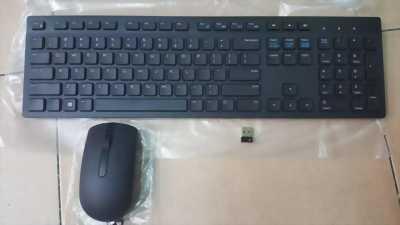 Bộ phím chuột không dây Dell KM636 màu đen, full box
