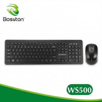 Combo phím chuột không dây Bosston WS-500 chính hãng