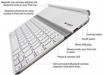 Bàn phím cho ipad mini 4