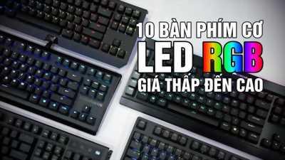 Bán bàn phím cơ thật, nhiều chế độ đèn led