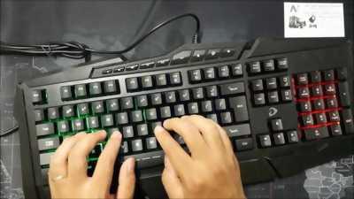 Bàn phím giả cơ DareU LK160