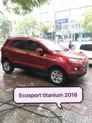 Bán xe ô tô Ford EcoSport Titanium 1.5L AT 2016