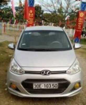 Bán xe ô tô Hyundai i10 Grand 1.2 MT Base 2015 giá 322 Triệu