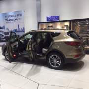 Bán xe ô tô Hyundai Santa Fe 2.4L 4WD 2018 giá 1 Tỷ 40 Triệu