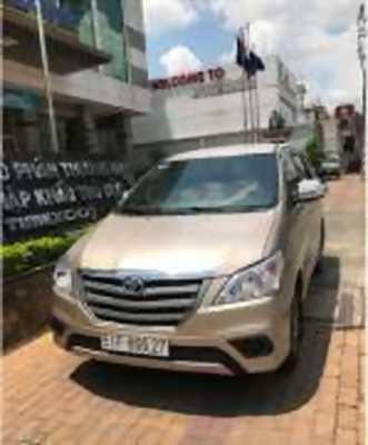 Bán xe ô tô Toyota Innova 2.0E 2016 giá 612 Triệu