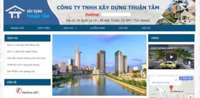 CÓ NGAY WEBSITE KINH DOANH BẤT ĐỘNG SẢN CHỈ 2,6TR