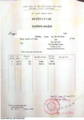 Bán đất nền  294m2 (có 130m2 thổ cư) - 950 Triệu