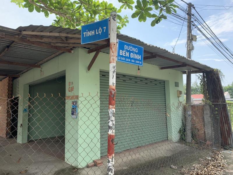 Bán gấp lô đất mặt tiền đường Bến Đình, Củ Chi .