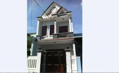 Bán nhà 1 trệt 1 lầu 5x20m đường Võ Thị Hồi - Hóc Môn