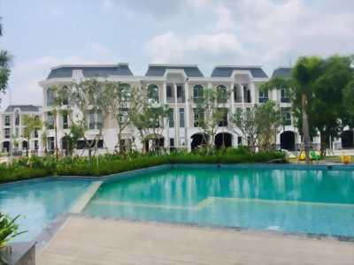 Nhà phố 1 trệt 2 lầu, thiết kế hiện đại, mt Trần Văn Mười, Hóc Môn