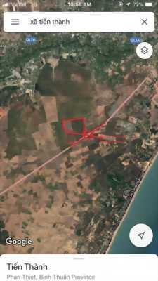 Đất Nền Tp Phan Thiết View Biển Giá Rẻ 850 tr /1000 m2 có SHR từng Lô