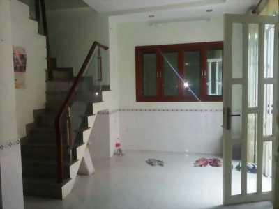 Bán nhà quận 1, 3 tầng, đường Nguyễn Văn Cừ, về ở luôn