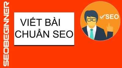 Dịch vụ viết bài chuẩn seo tại Gò Vấp
