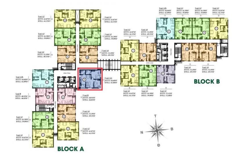 Bán căn góc 55m Thủ Thiêm Garden, đường Liên Phường, quận 9, giá 1,57 tỷ. LH: 0909054186