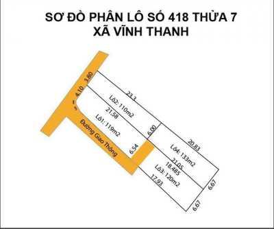 Bán gấp 3lô Vĩnh Thanh