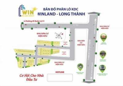 Bán đất Long Phước Long Thành Đồng Nai,shr,giá 14,5tr/m2
