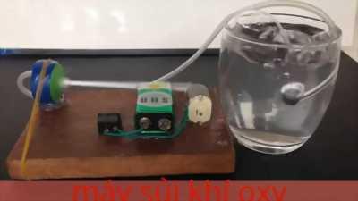 Sủi oxy bể cá