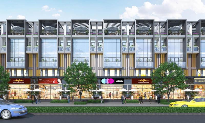 Bán căn P 2-9 shophouse Vincom Thái Nguyên