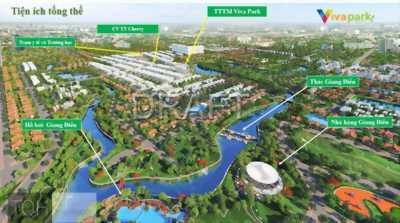10 suất nhà phố, biệt thự dự án Viva Park Giang Điền