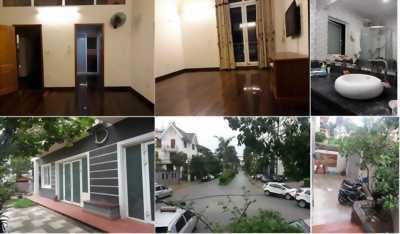 Bán biệt thự tiểu khu Vạn Phúc, Hà Đông 184,7m2