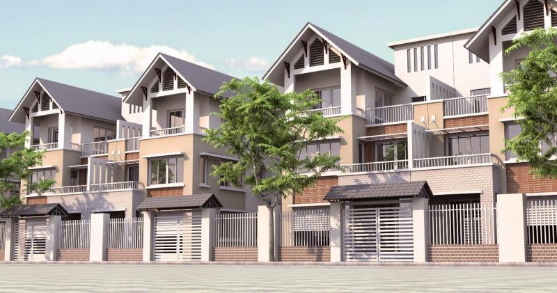 Nhà mặt phố Hương Viên 35mX4t, MT3,5m, giá 10,5 ty
