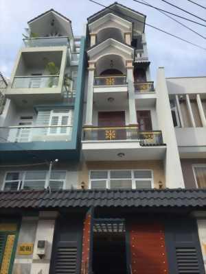 Cần Tiền bán nhà 80m2, HXH(5m), 2lầu + ST mới 99%