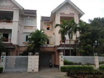 Bán nhà biệt thự khu biệt thự Phương Nam 3 tầng