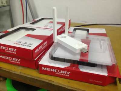 Bộ kích sóng Wifi Mercury 03 ăngten mới tinh