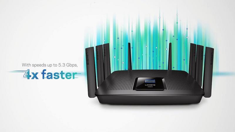 Phát wifi có 4 cổng Lan. Sử dụng làm Router - Phát